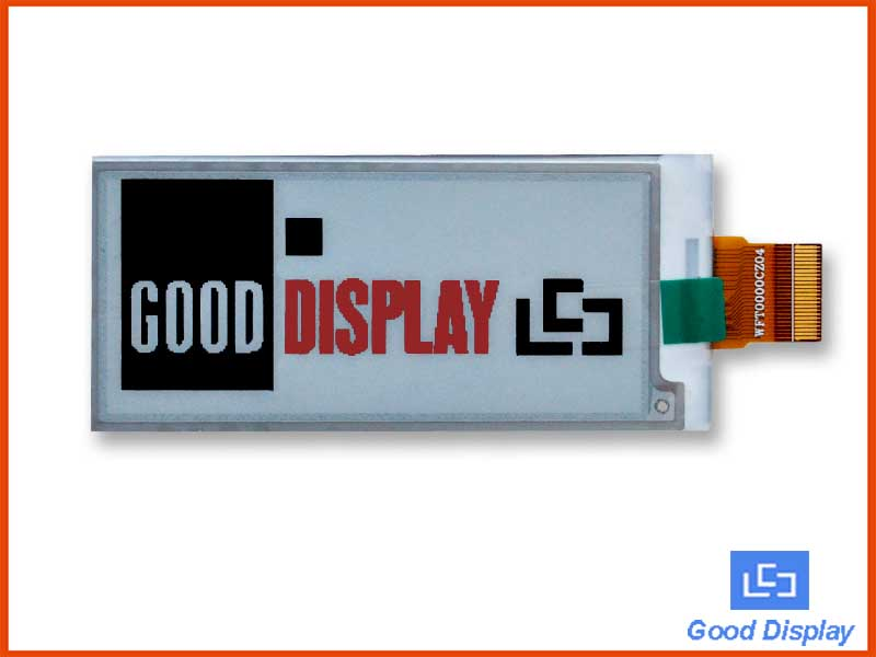 2.9-inch color e-paper display electronic paper screen GDEW029Z10