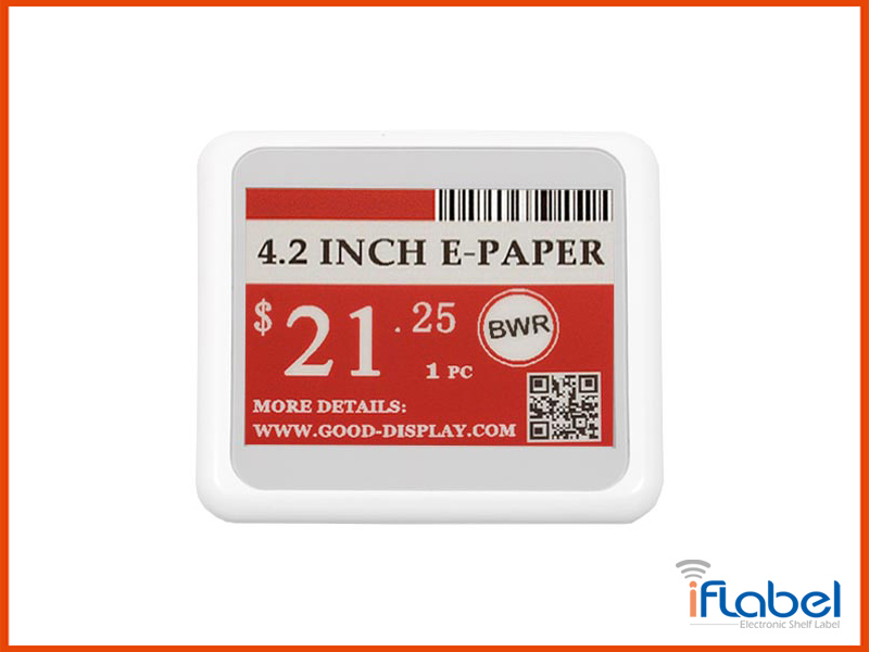 4.2 inch electronic shelf label ESL Tag For retail -- IL042E