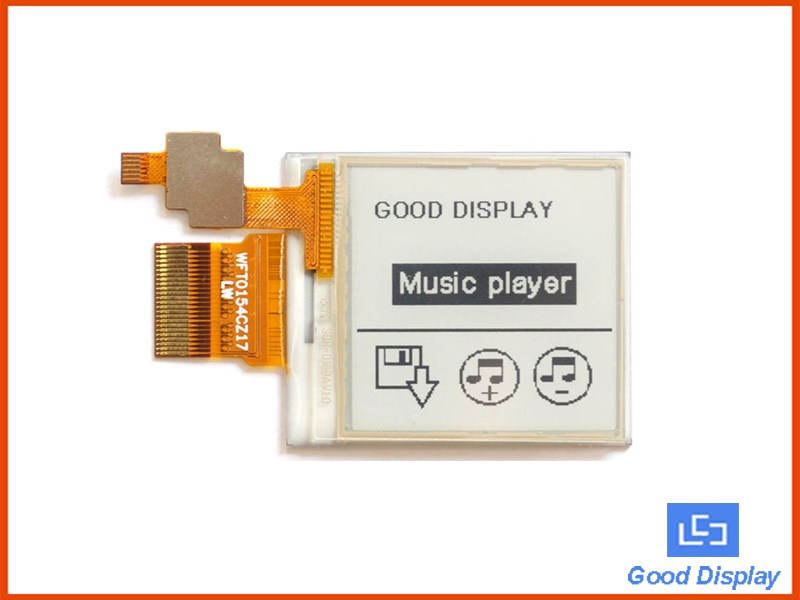 1.54 inch e-paper display module with touch screen partial refresh GDEW0154T8-T